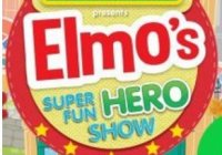 Sesame Street Presents Elmos Super Fun Hero Show V1